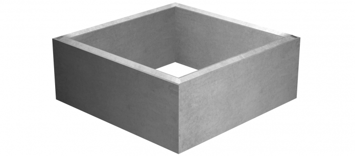 Produits gls funductil france for Rehausse beton 50x50 castorama